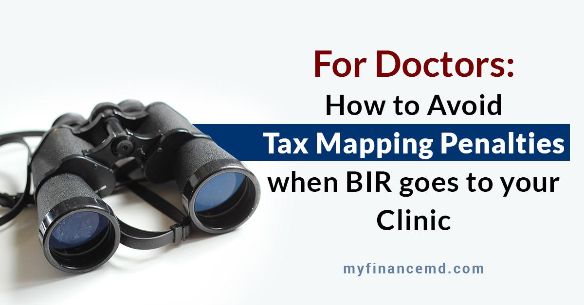 BIR Tax Mapping Doctors